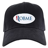 Anti-Romney Robme Black Cap