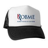 Anti-Romney Rob Me Robin Hood Trucker Hat