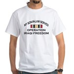 My Son-in-law Served - OIF Ri White T-Shirt