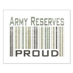 Military Army Reserves Proud Small Poster