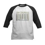 Army Girlfriends Priceless Barcode Kids Baseball J