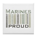 Marines Proud Military Tile Coaster