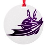 Vampire Bat 2 Round Ornament