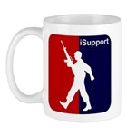 iSupport - Support our Troops Mug