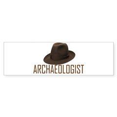 Archaeologist Sticker (Bumper)