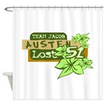 Team Jacob - Austen 51 Shower Curtain