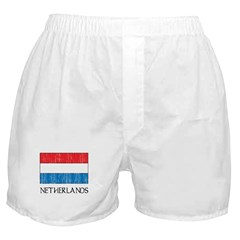 Netherlands Flag Boxer Shorts