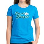 I'm A Keeper Women's Dark T-Shirt
