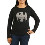 Vintage Eagle Women's Long Sleeve Dark T-Shirt