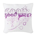 Good Witch Woven Throw Pillow