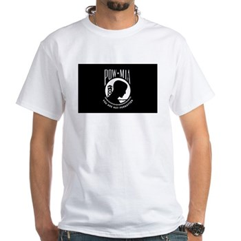 POW MIA White T-Shirt