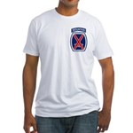 10th Mountain Division Fitted T-Shirt