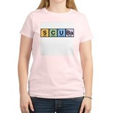 Elements of Scuba Women's Pink T-Shirt