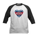 Vote Alan Keyes 2008 Political Kids Baseball Jerse