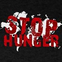 Stop hunger Slogan T-Shirt
