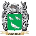 Macphilip Coat of Arms - Family Crest T-Shirt