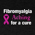Fibromyalgia Aching For A Cure Awareness R T-Shirt