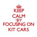 Keep calm by focusing on on Kit Cars T-Shirt