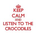 Keep calm and listen to the Crocodiles T-Shirt