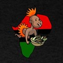 Kwanzaa Baby with Africa and corn.png T-Shirt