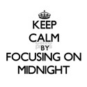 Keep Calm by focusing on Midnight T-Shirt