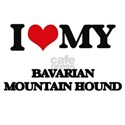 I love my Bavarian Mountain Hound T-Shirt