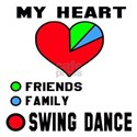 My heart! Friends, Family and Swing Shirt