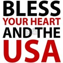 Bless Your Heart and the USA T-Shirt