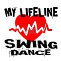 My Lifeline Swing dance White T-Shirt