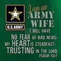 I am an Army Wife Psalm 112 T-Shirt