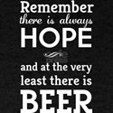 Remember there is always hope and at the very leas