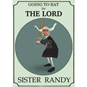 Sister Randy's Baseball Card White T-Shirt