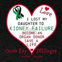 Personalize-Loss To Kidney Failure. T-Shirt