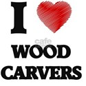 I love Wood Carvers T-Shirt