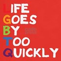 LGBTQ - Life Goes By Too Quickly T-Shirt