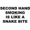 Second hand smoking is like a snake bite T-Shirt