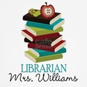 Cute Personalized Librarian Long Sleeve T-Shirt