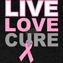 Live Love Cure BC T-Shirt