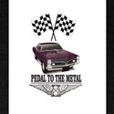 purple pedal metal T-Shirt