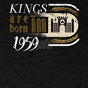 Gothic Birthday Kings Castle Born 1959 T-Shirt