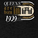 Gothic Birthday Queens Castle Born 1939 T-Shirt