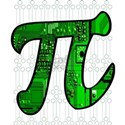 Pi Day Science Maths Circuit Board T-Shirt