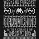 Weekend Forecast Bird Watching T Shirt T-Shirt