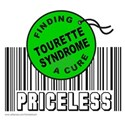 TOURETTE SYNDROME FINDING A CURE White T-Shirt