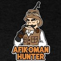 Afikoman Hunter Cool Graphic Paassover Des T-Shirt