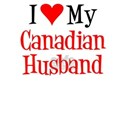 Love My Canadian Husband T-Shirt