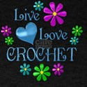 Live Love Crochet T-Shirt