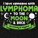 I Love Someone With Lymphoma To The Moon And Back
