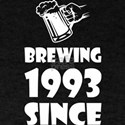 Brewing Since 1993 Beer Fathers Day Gift T-Shirt