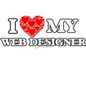 I Love my Web Designer T-Shirt